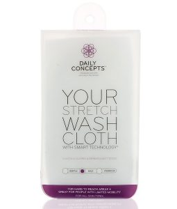 DAILY CONCEPTS, YOUR STRETCH WASH CLOTH, MILD, 1 CLOTH