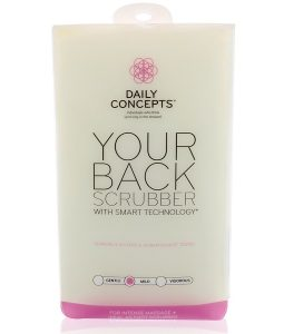 DAILY CONCEPTS, YOUR BACK SCRUBBER, MILD, 1 SCRUBBER