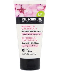 DR. SCHELLER, ALMOND & CALENDULA SOOTHING HAND CARE, 2.7 OZ / 76g