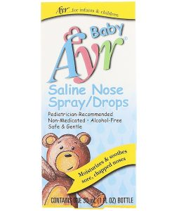 AYR, BABY SALINE NOSE SPRAY/DROPS, 1 FL OZ / 30ml