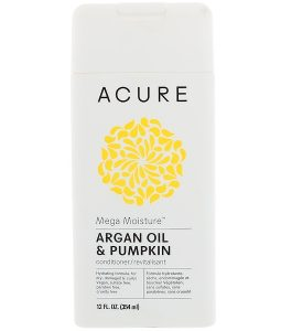 ACURE, MEGA MOISTURE CONDITIONER, ARGAN OIL & PUMPKIN, 12 FL OZ / 354ml