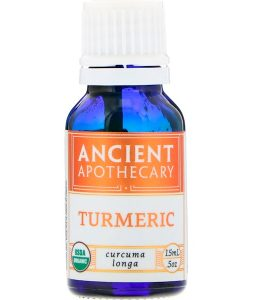 ANCIENT APOTHECARY, TURMERIC, .5 OZ / 15ml