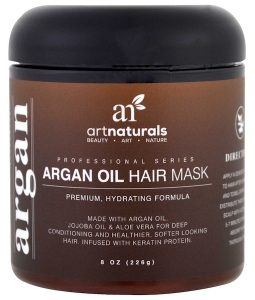 ARTNATURALS, ARGAN OIL HAIR MASK, 8 OZ / 226g