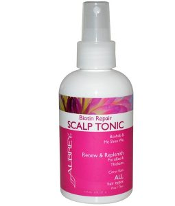 AUBREY ORGANICS, BIOTIN REPAIR, SCALP TONIC, CITRUS RAIN, 6 FL OZ / 177ml