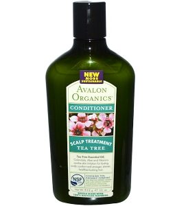 AVALON ORGANICS, CONDITIONER, SCALP TREATMENT, TEA TREE, 11 OZ / 312g
