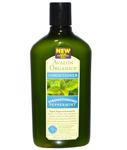 AVALON ORGANICS, CONDITIONER, STRENGTHENING, PEPPERMINT, 11 FL OZ / 325ml
