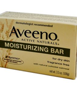 AVEENO, ACTIVE NATURALS, MOISTURIZING BAR, FRAGRANCE FREE, 3.5 OZ / 100g