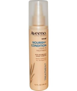 AVEENO, ACTIVE NATURALS, NOURISH+CONDITION, LEAVE-IN TREATMENT, 5.2 FL OZ / 154ml
