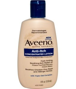 AVEENO, ACTIVE NATURALS, ANTI-ITCH CONCENTRATED LOTION, 4 FL OZ / 118ml
