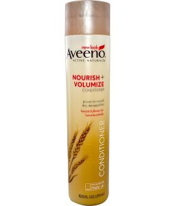AVEENO, ACTIVE NATURALS, NOURISH + VOLUMIZE CONDITIONER, 10.5 FL OZ / 311ml