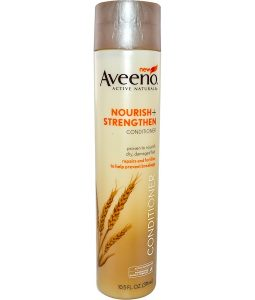 AVEENO, ACTIVE NATURALS, NOURISH+STRENGTHEN, CONDITIONER, 10.5 FL OZ / 311ml
