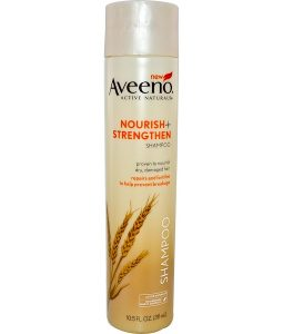 AVEENO, ACTIVE NATURALS, NOURISH + STRENGTHEN SHAMPOO, 10.5 FL OZ / 311ml