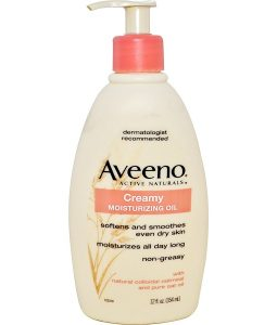 AVEENO, ACTIVE NATURALS, CREAMY MOISTURIZING OIL, 12 FL OZ / 354ml