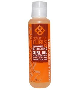 BEAUTIFUL CURLS, NOURISHING CURL OIL, 4 FL OZ / 117ml