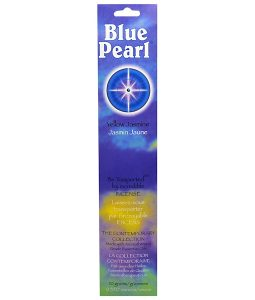 BLUE PEARL, THE CONTEMPORARY COLLECTION, YELLOW JASMINE INCENSE, 0.35 OZ / 10g