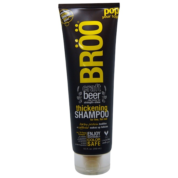 BR??, THICKENING SHAMPOO, CITRUS CREME, 8.5 FL OZ / 250ml