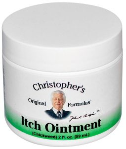 CHRISTOPHER'S ORIGINAL FORMULAS, ITCH OINTMENT, 2 FL OZ / 59ml
