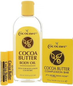 COCOCARE, COCOA BUTTER GIFT BAG, 4 PIECES