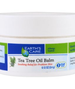 EARTH'S CARE, TEA TREE OIL BALM, 0.12 OZ / 3.4)