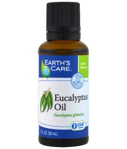 EARTH'S CARE, EUCALYPTUS OIL, 1 FL OZ / 30ml