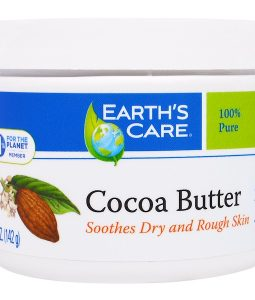 EARTH'S CARE, COCOA BUTTER, 5 OZ / 142g
