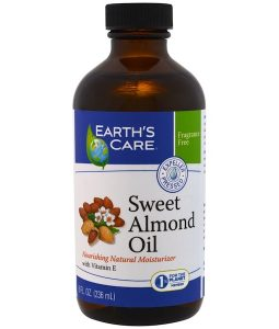 EARTH'S CARE, SWEET ALMOND OIL, 8 FL OZ / 236ml
