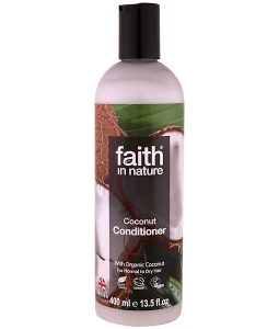 FAITH IN NATURE, CONDITIONER, FOR NORMAL TO DRY HAIR, COCONUT, 13.5 FL OZ / 400ml