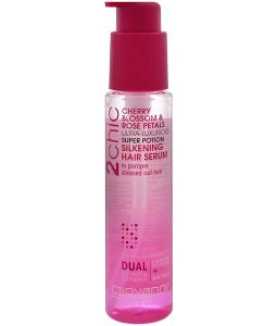 GIOVANNI, 2CHIC, ULTRA-LUXURIOUS SUPER POTION SILKENING HAIR SERUM, CHERRY BLOSSOM & ROSE PETALS, 2.75 FL OZ / 81ml