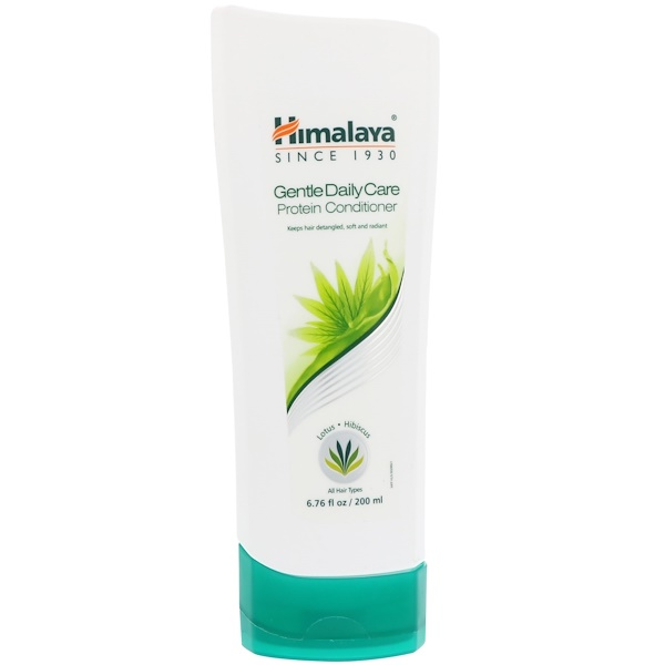 HIMALAYA, GENTLE DAILY CARE PROTEIN CONDITIONER, ALL HAIR TYPES, 6.76 FL OZ / 200ml