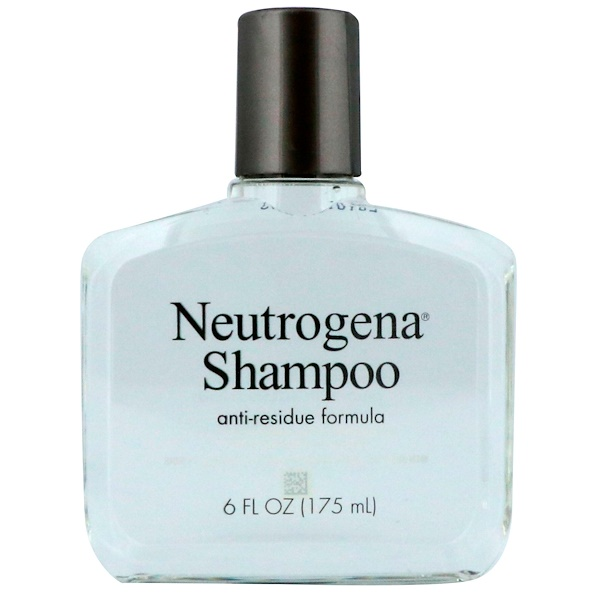 NEUTROGENA, THE ANTI-RESIDUE SHAMPOO, ALL HAIR TYPES, 6 FL OZ / 175ml