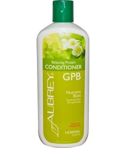 AUBREY ORGANICS, GPB BALANCING PROTEIN CONDITIONER, ROSEMARY PEPPERMINT, NORMAL, 11 FL OZ / 325ml
