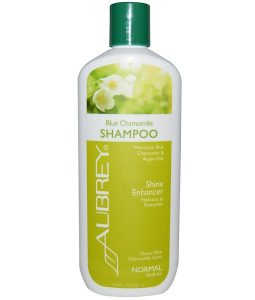AUBREY ORGANICS, BLUE CHAMOMILE SHAMPOO, SHINE ENHANCER, NORMAL, 11 FL OZ / 325ml