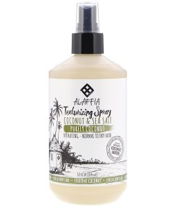 EVERYDAY COCONUT, TEXTURING SPRAY, HYDRATING, NORMAL TO DRY HAIR, COCONUT & SEA SALT, 12 FL OZ / 354ml