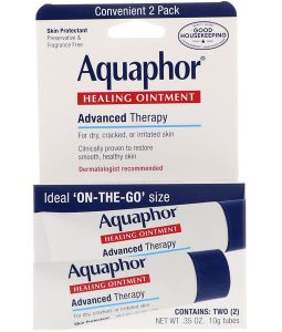 AQUAPHOR, HEALING OINTMENT, SKIN PROTECTANT, 2 TUBES, 0.35 OZ / 10g EACH