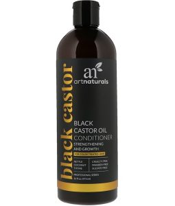 ARTNATURALS, BLACK CASTOR OIL CONDITIONER, STRENGTHENING AND GROWTH, 16 FL OZ / 473ml