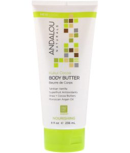 ANDALOU NATURALS, BODY BUTTER, NOURISHING, KUKUI COCOA, 8 FL OZ / 236ml