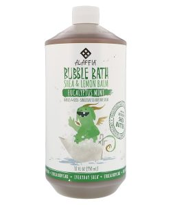 EVERYDAY SHEA, BUBBLE BATH, SHEA & LEMON BALM, EUCALYPTUS MINT, 32 FL OZ / 950ml
