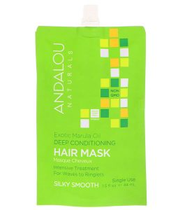 ANDALOU NATURALS, EXOTIC MARULA OIL DEEP CONDITIONING HAIR MASK, 1.5 FL OZ / 44ml