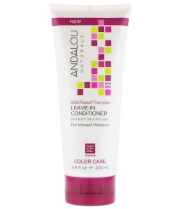ANDALOU NATURALS, 1000 ROSES COMPLEX, COLOR CARE, LEAVE-IN CONDITIONER , 6.8 FL OZ / 200ml