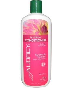 AUBREY ORGANICS, CONDITIONER, BIOTIN REPAIR, CITRUS RAIN, 11 FL OZ / 325ml