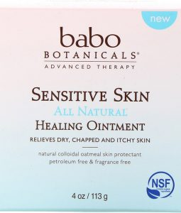 BABO BOTANICALS, SENSITIVE SKIN, ALL NATURAL, HEALING OINTMENT, 4 OZ / 113g