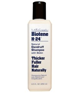 BIOTENE H-24, NATURAL DANDRUFF SHAMPOO, WITH BIOTIN, 8.5 FL OZ / 250ml