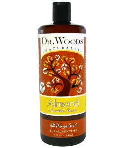 DR. WOODS, ALMOND CASTILE SOAP, 32 FL OZ / 946ml