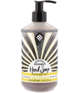 EVERYDAY COCONUT, HAND SOAP, COCONUT PINEAPPLE, 12 FL OZ / 354ml