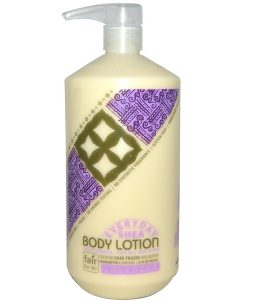 EVERYDAY SHEA, BODY LOTION, LAVENDER, 32 FL OZ / 950ml