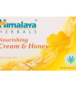 HIMALAYA, NOURISHING CLEANSING BAR, CREAM & HONEY, 4.41 OZ / 125g