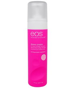 EOS, SHAVE CREAM, POMEGRANATE RASPBERRY, 7 FL OZ / 207ml