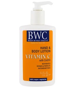 BEAUTY WITHOUT CRUELTY, VITAMIN C, WITH COQ10, HAND AND BODY LOTION, 8.5 FL OZ / 250ml