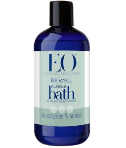 EO PRODUCTS, BE WELL, BUBBLE BATH, EUCALYPTUS & ARNICA, 12 FL OZ / 355ml