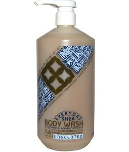 EVERYDAY SHEA, BODY WASH, UNSCENTED, 32 FL OZ / 950ml